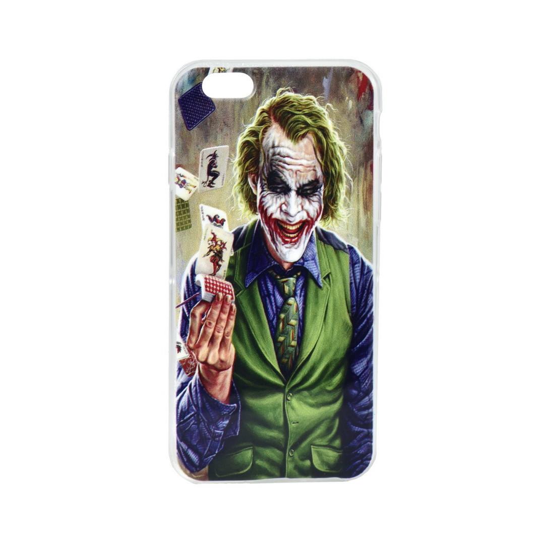 Чехол для Apple iPhone 6 back cover Joker Green gel Clear