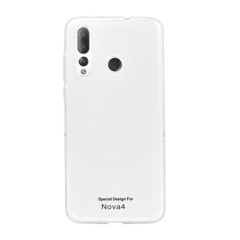 Чехол для Huawei Nova 4 back cover ultra-thin gel AAAA clear