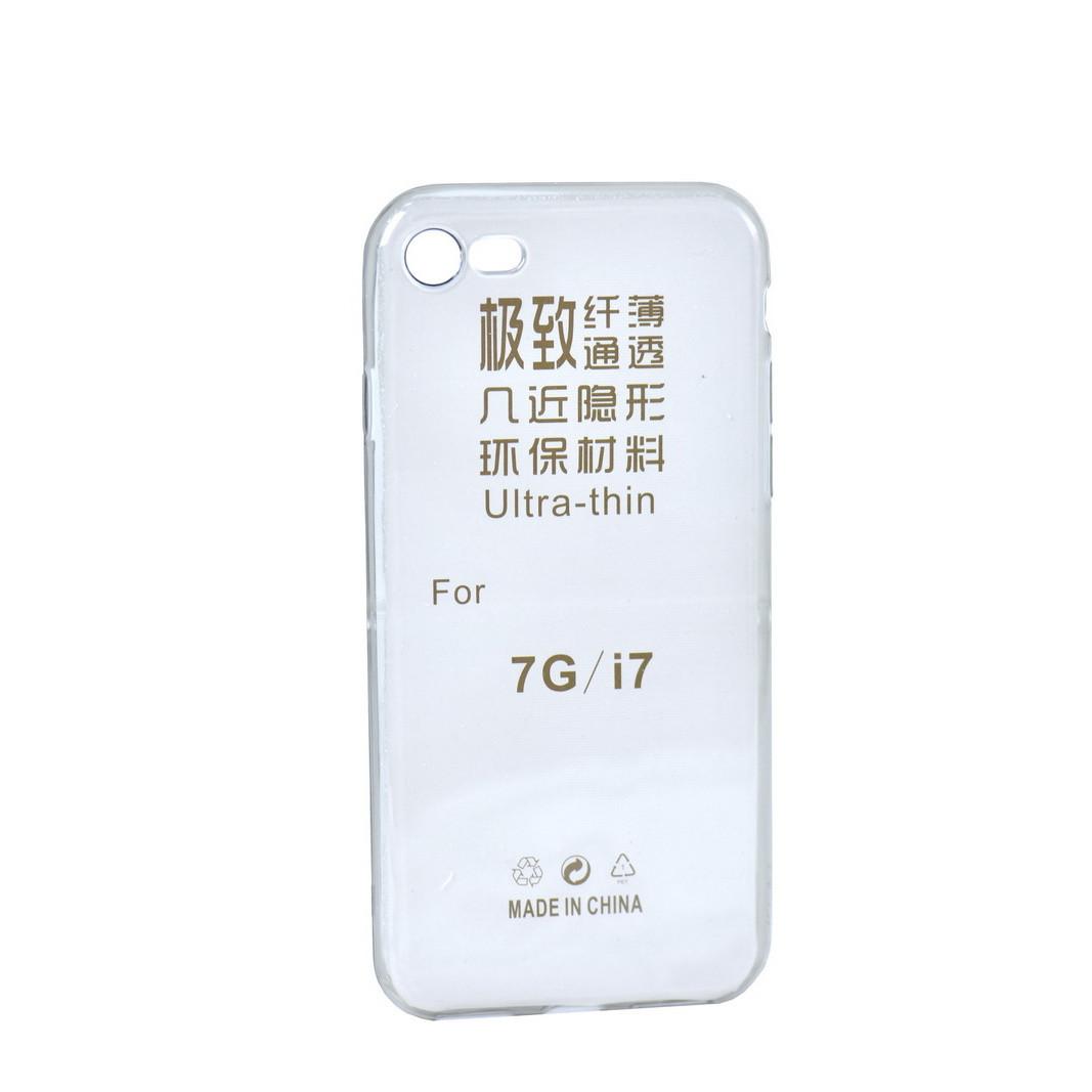 Чехол для Apple iPhone 7 back cover ultra-thin gel Gray/clear