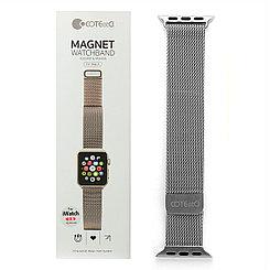Ремешок For Apple Watch 42mm COTEetCI W6 WH5203-TS Magnet Band Silver