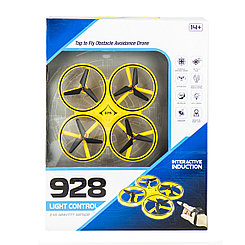 Квадрокоптер 928 Light Control, Yellow