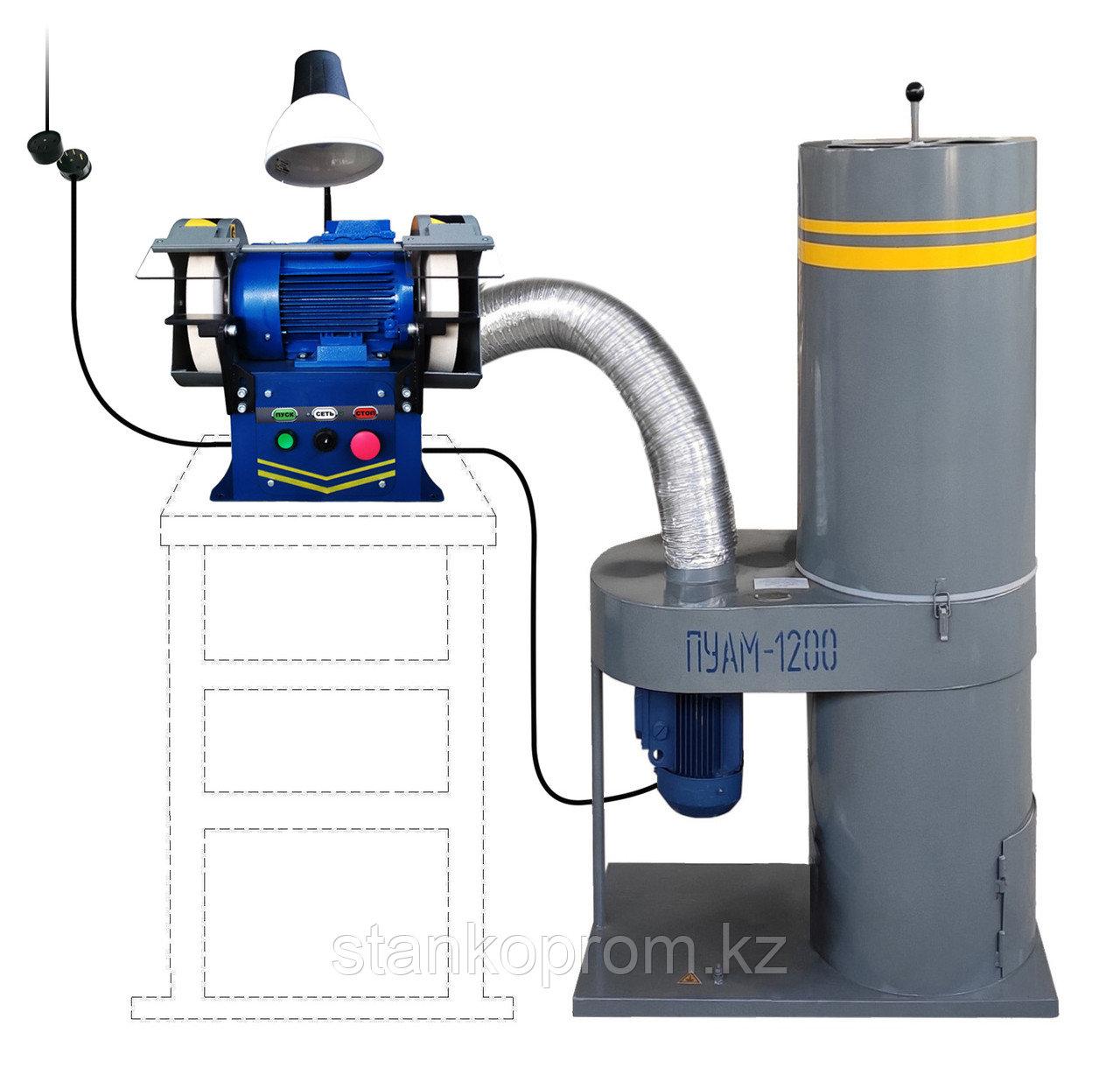 Станок точильно-шлифовальный ТШ-1Д-П