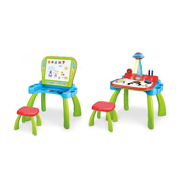 Мольберт 3в1 проектор, столик, стульчик