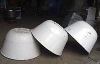 Дежа подкатная 330л углеродистая сталь с тележкой