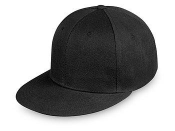 Бейсболка с прямым козырьком Los Angeles, черный