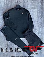 Рашгард (компрессионное белье) Nike 3в1, черный
