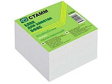 "Блок для записей СТАММ ""Офис"" белый проклееный 9х9х5 см"