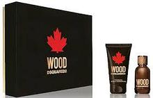 Dsquared2 Wood for Him Gift Set edt 50ml+ shwer gel 50ml + body lotion 50ml