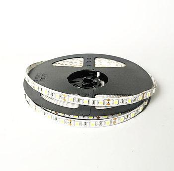 Лента светодиодная 5050 60/м 10мм, 12V, 2x5м, 12W/m, БЕЛАЯ IP20 (кратно10)