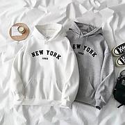Худи oversize New York 199x