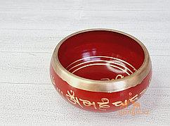 Поющая чаша Золотистая, 13 см