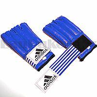 Шингарты для боевых искусств с надписью синие размер S