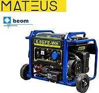 Бензиновый генератор Mateus 6,0 GFE-WH (6000 Вт | 220 В)