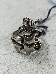 Кольцо Ciclon/ Botanic/. размер кольца 18.
