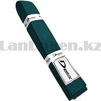 Пояс для кимоно Demix зеленый 240 см
