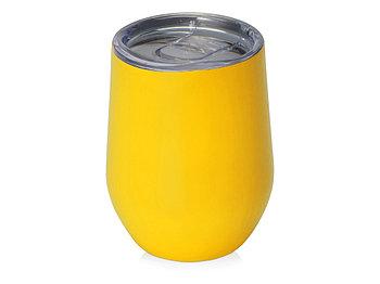 Вакуумная термокружка Sense, желтый
