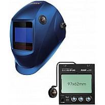 Сварочная маска с автоматическим светофильтром Tecmen ADF - 815S TM16 синяя (внешн. кнопка зачистки)