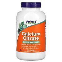 Кальций цитрат (комплекс минералов) от NOW Foods 250 таб.
