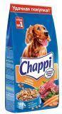 Chappi 15кг мясное изобилие с овощами и травами Чаппи Сухой корм для собак сытный мясной обед
