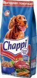 Chappi 15кг с Говядиной Чаппи Сухой корм для собак сытный мясной обед