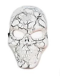 Маска Череп рисунок трещины