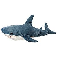 Мягкая игрушка акула БЛОХЭЙ ИКЕА, IKEA