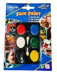 Грим карнавальный, краски для тела и лица