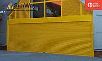 Рольставни, цвет желтый