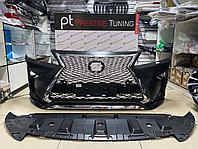 Передний бампер в сборе на Lexus RX 2009-15 дизайн 2016, фото 1