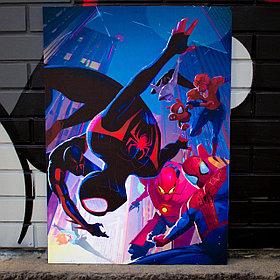 Постер Человек паук: Через вселенные