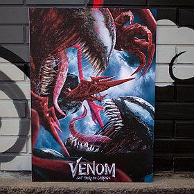 Постер Веном: Да будет Карнаж