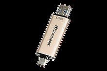 Transcend TS128GJF930C USB Флеш накопитель JetFlash 930C, 128GB, USB Type-A / Type-C