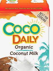 Органическое кокосовое молоко CocoDaily 61%, 1 л (жирность 17-19%)
