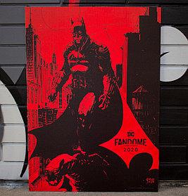 Постер Бэтмен DC Fandome 2020