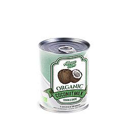 Органическое кокосовое молоко Ahya, 400 мл ж/б