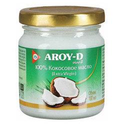 Масло кокосовое(Extra virgin) . AROY-D,180 мл