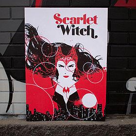 Постер Алая Ведьма