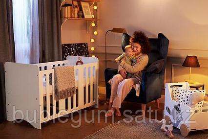 Детская кроватка Kinderkraft 🇪🇺 STELLO White