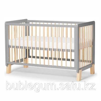 Детская кроватка Kinderkraft 🇪🇺 с матрасом LUNKY Grey + матрас