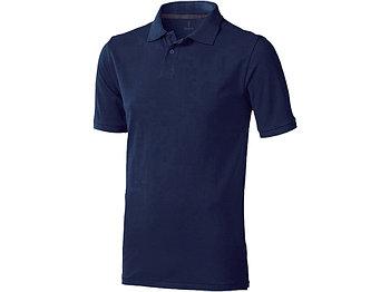 Рубашка поло Calgary мужская, темно-синий