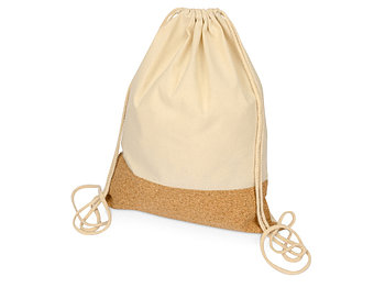 Рюкзак-мешок Corky хлопковый со вставкой из пробки