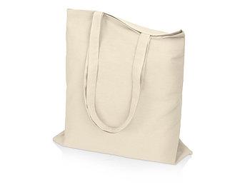Сумка для шопинга Carryme 140 хлопковая, 140 г/м2, натуральный