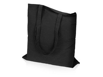 Сумка для шопинга Carryme 140 хлопковая, 140 г/м2, черный