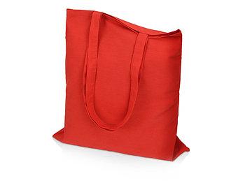 Сумка для шопинга Carryme 140 хлопковая, 140 г/м2, красный