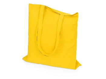 Сумка для шопинга Carryme 140 хлопковая, 140 г/м2, желтый