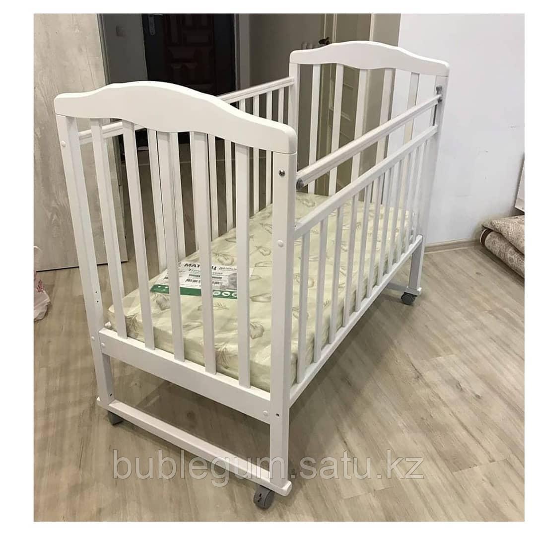 Детская кроватка Алита 2 колесо-качалка (Антел - Росссия)
