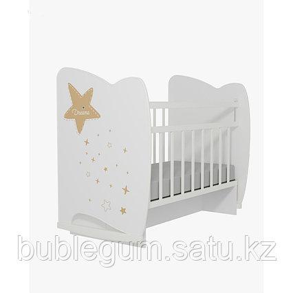 Детская кроватка ВДК  Estella маятник и ящик
