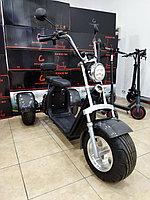 Электробайк City Coco 3 х колесный Полная комплектация с титановыми дисками. Электросамокат., фото 1