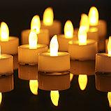 Светодиодная свеча с имитацией пламени., фото 7
