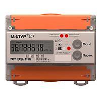 Счётчик электрической энергии Милур 107.22P-1L-D (ИК-порт)